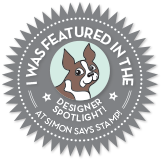 Thrilled to be  a Designer Spotlight Winner