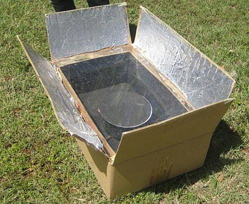 Estufa solar for Cocina de creacion