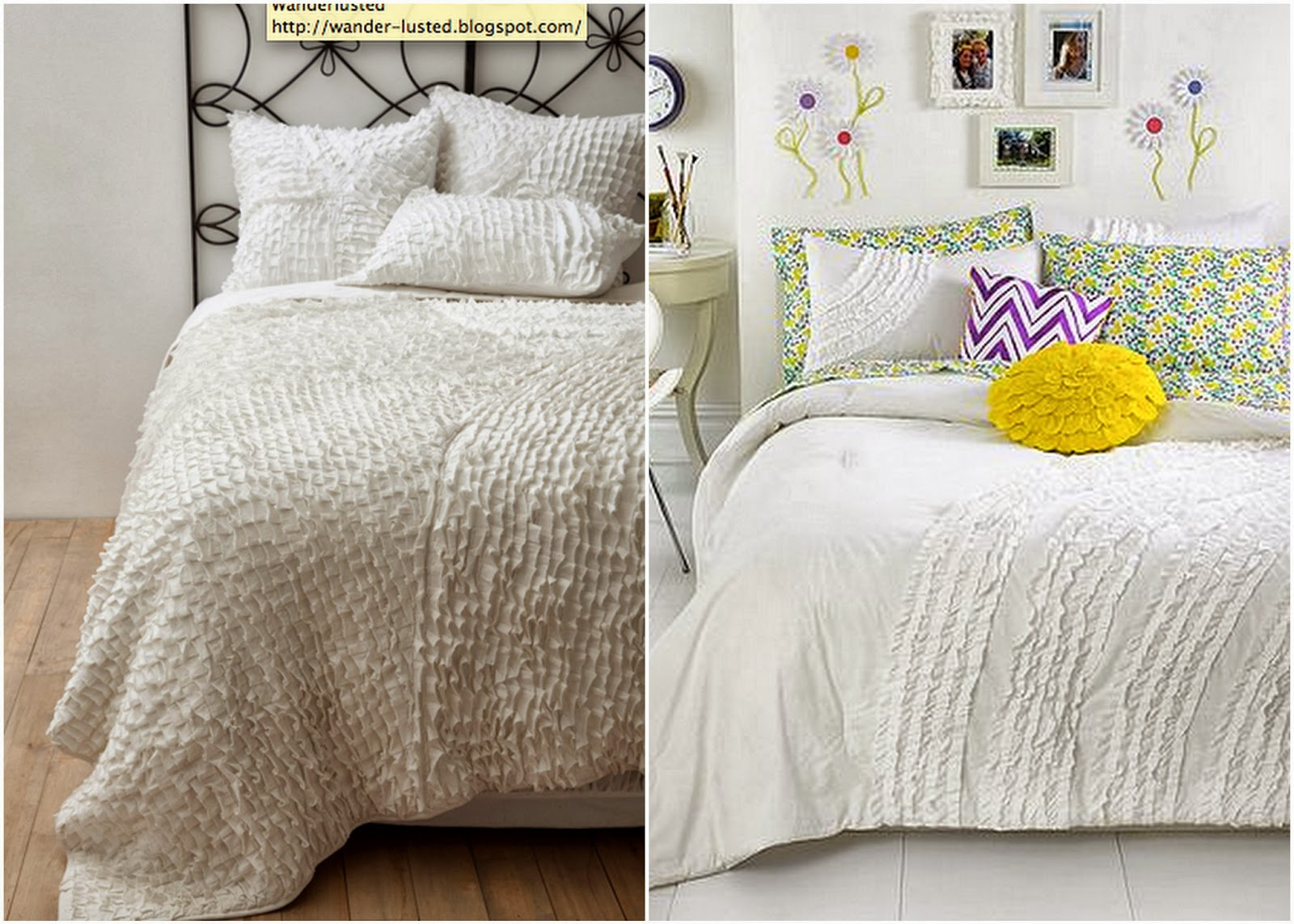 Anthropologie bedding - Anthropologie Willow Quilt For 368 King Or Ella Ruffle Comforter Set Queen Plus 2 Shams