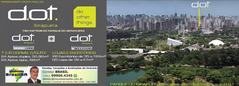 D.O.T. Ibirapuera - apartamentos, lojas e escritórios na Vila Mariana-São Paulo-SP-Brasil