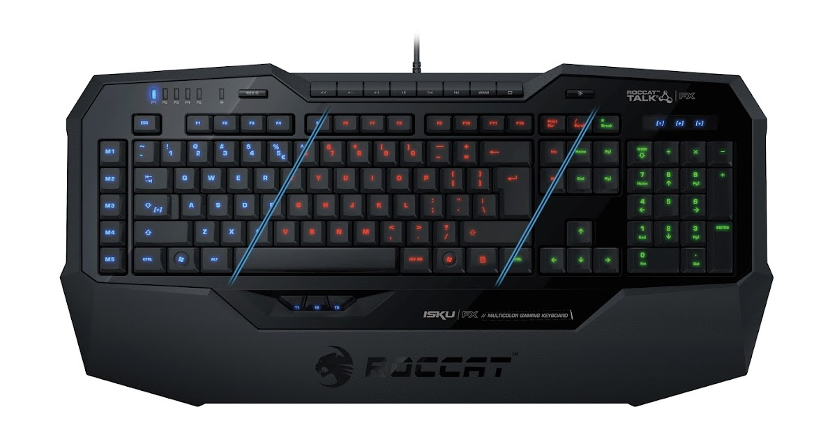 ROCCAT ISKU MULTICOLOR GAMING KEYBOARD AR LAYOUT RGB Performa PC