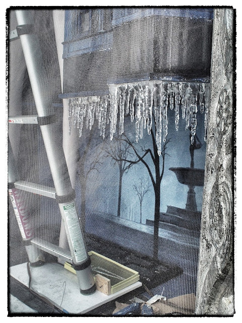 Building a Winter Wonderland, #BGWindows, NYC