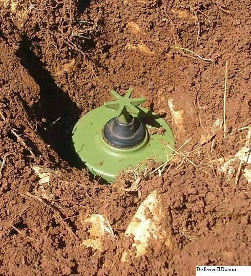 Myanmar Planted Land Mines alongside Bangladesh Border