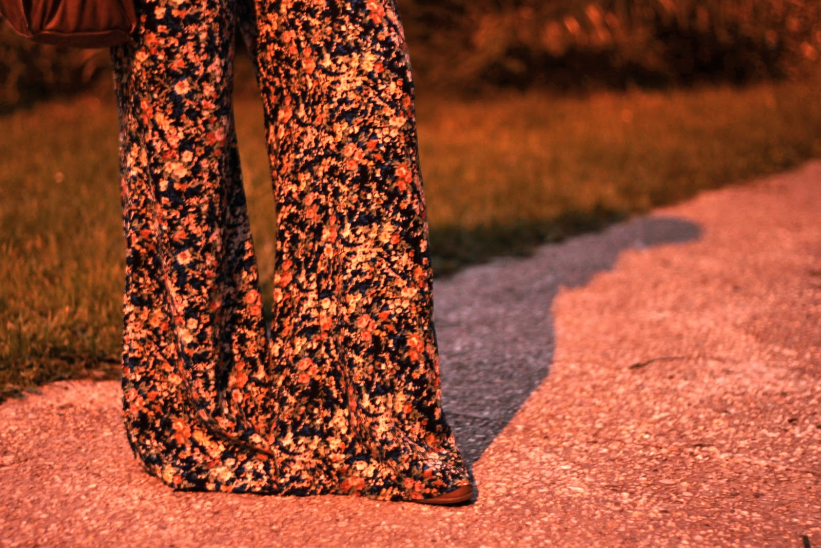 pantalon fleurs new look