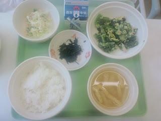 写真:パルス入院2日目の朝食
