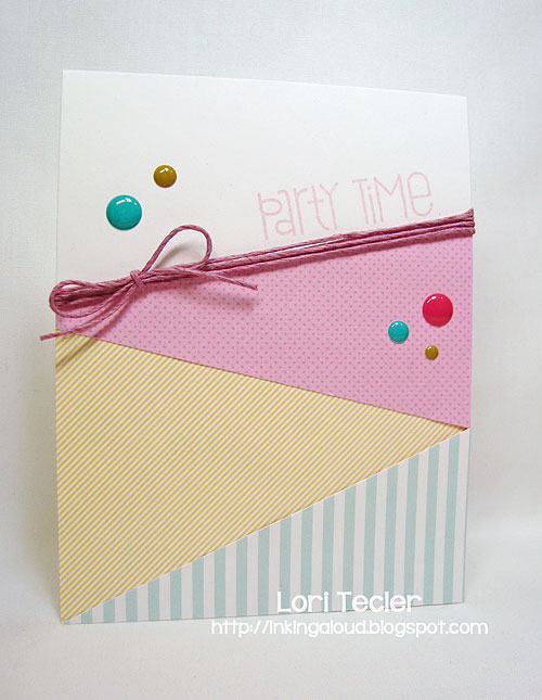 Party Time-designed by Lori Tecler/Inking Aloud-stamps from Paper Smooches