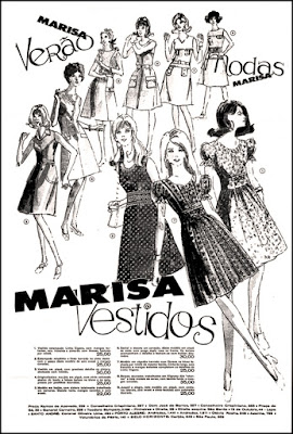 Loja Marisa, Brazil fashion in the 70's, 1970; moda anos 70; propaganda anos 70; história da década de 70; reclames anos 70; brazil in the 70s; Oswaldo Hernandez
