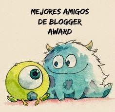 Mejores Amigos de Blogger Award