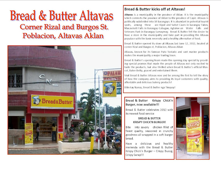 Bread & Butter Altavas!