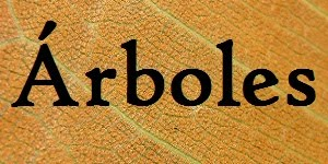 ÁRBOLES