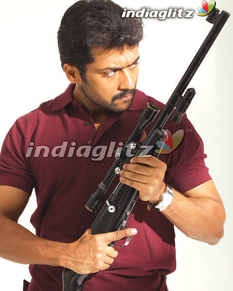 Surya in 'Vel' Movie