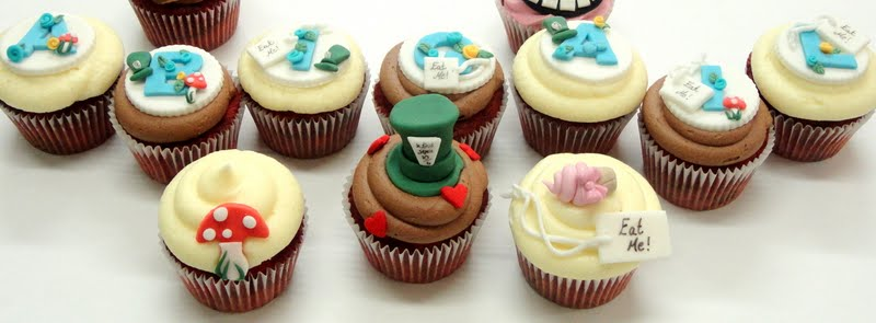 Easy Alice In Wonderland Cupcakes Next up are abigail s alice inEasy Alice In Wonderland Cupcakes