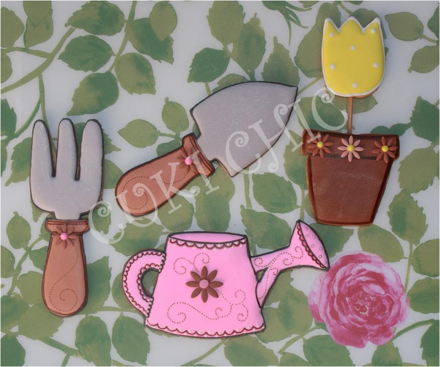 Cuki chic galletas decoradas for Utiles de jardineria