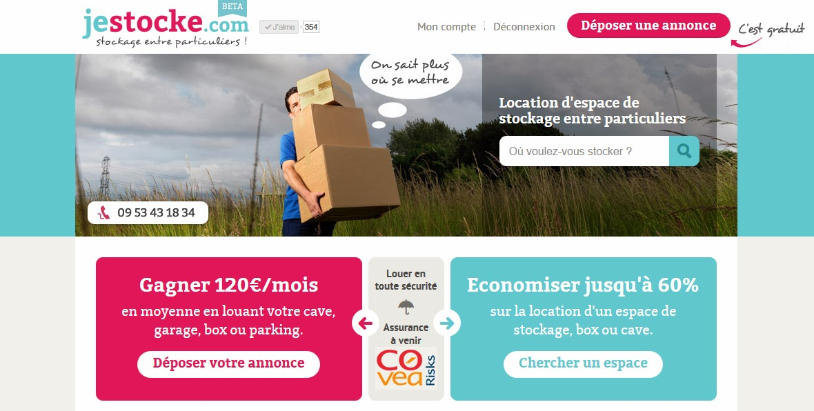 jestocke.com, le bon plan stockage et garde-meuble