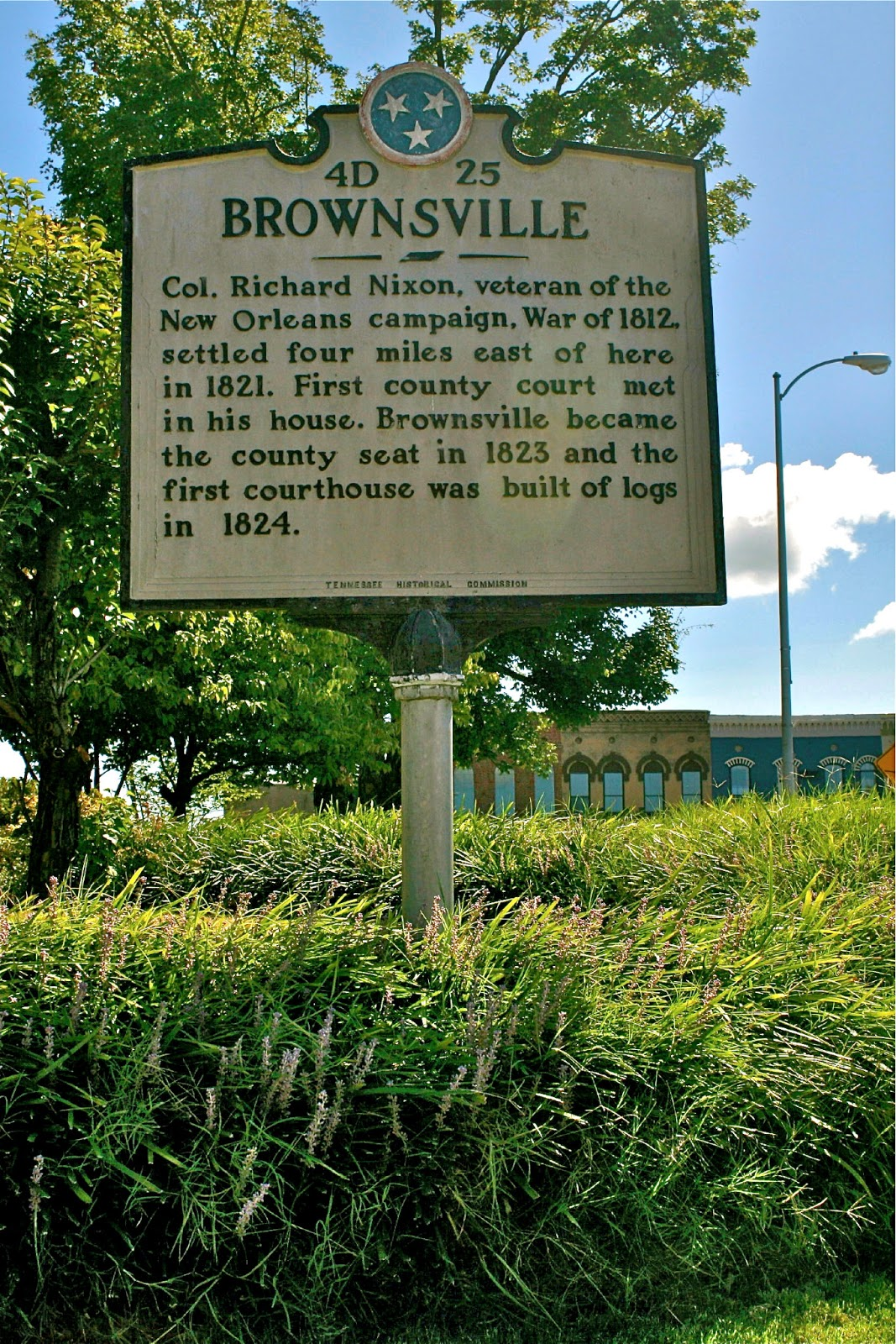 Tennessee haywood county brownsville - Marker Located On The Court Square In Brownsville Tn