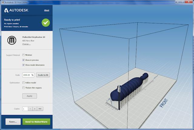 Autodesk 3D Print - free aplikace pro přípravu 3D tisku