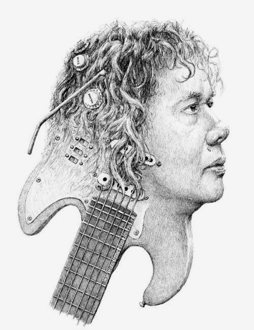 Redmer Hoekstra ilustrações surreais bizarras corpo humano