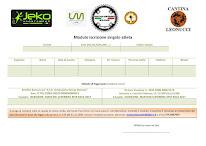 MODULO ISCRIZIONE SINGOLO MARTANI SUPEBIKE MTB RACE 2017
