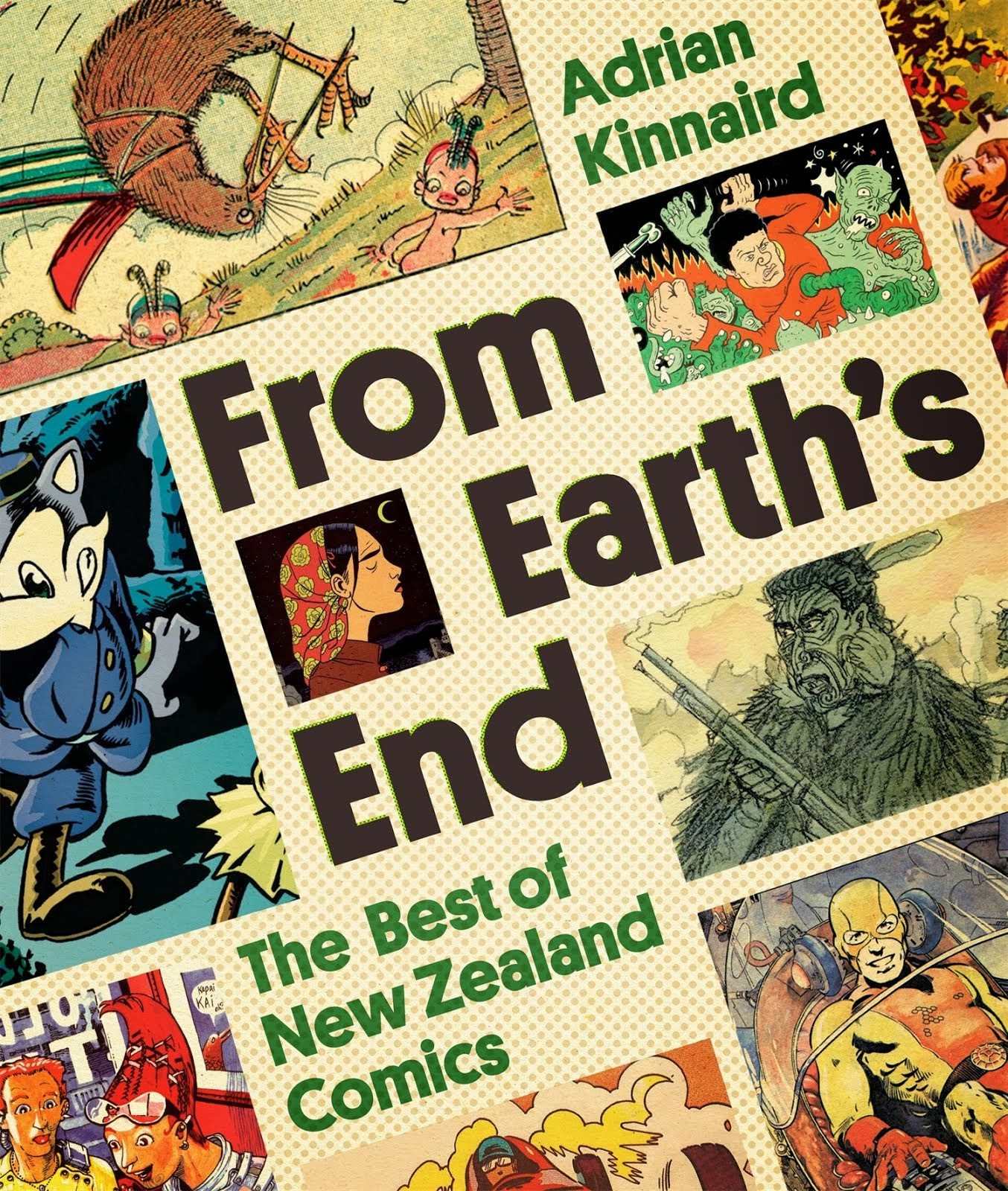 Buy From Earth's End: The Best of New Zealand Comics HERE!