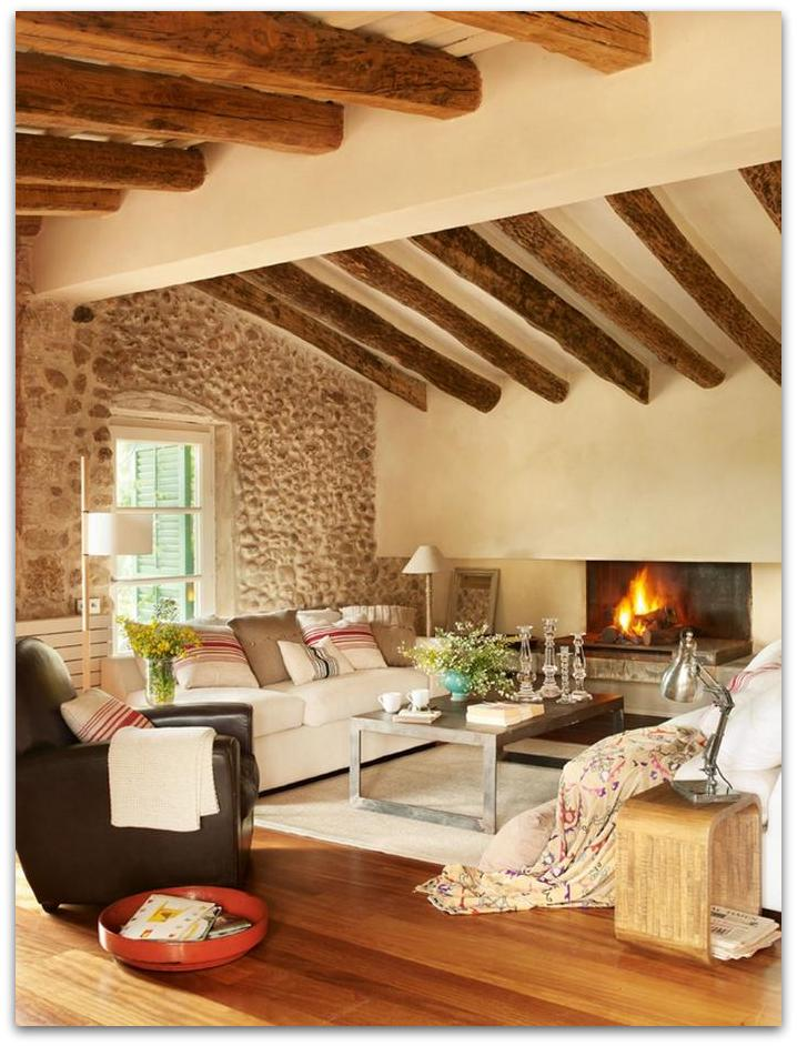 Art symphony old barn turned into a cozy home france for Cozy homes