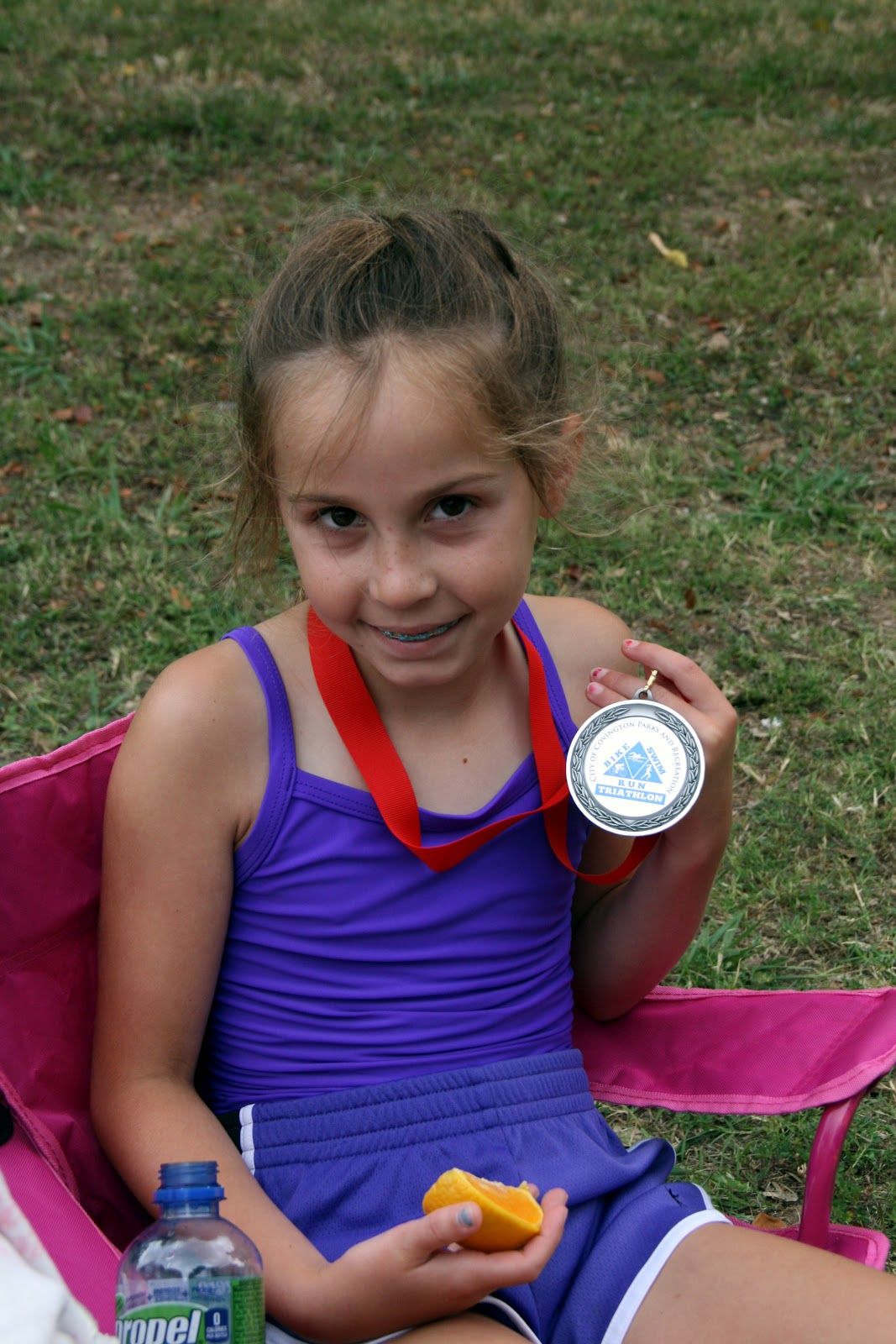 2 Kids, a Mini Van and a Mortgage: Ella's First Triathlon