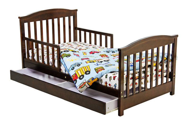 toddler bed rails toddler bed long side rails. Black Bedroom Furniture Sets. Home Design Ideas