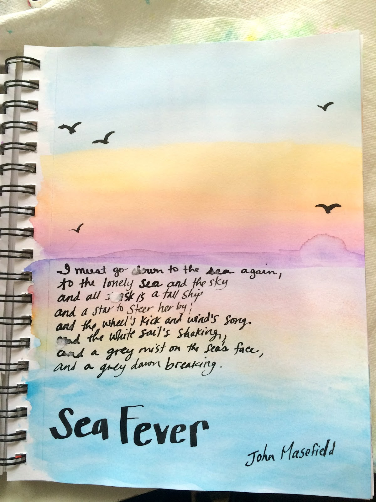 "meter in the poem sea fever by john masefield Read this excerpt from the bells"" by edgar allan poe in the startled ear of  read this excerpt from the bells  sea fever"" by john masefield."