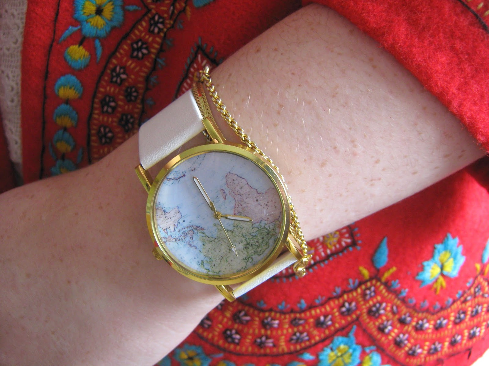 Globe Map Watch for Under £2