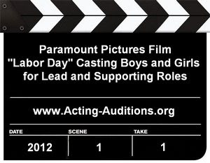 Labor Day Kids Casting Call Boston NY