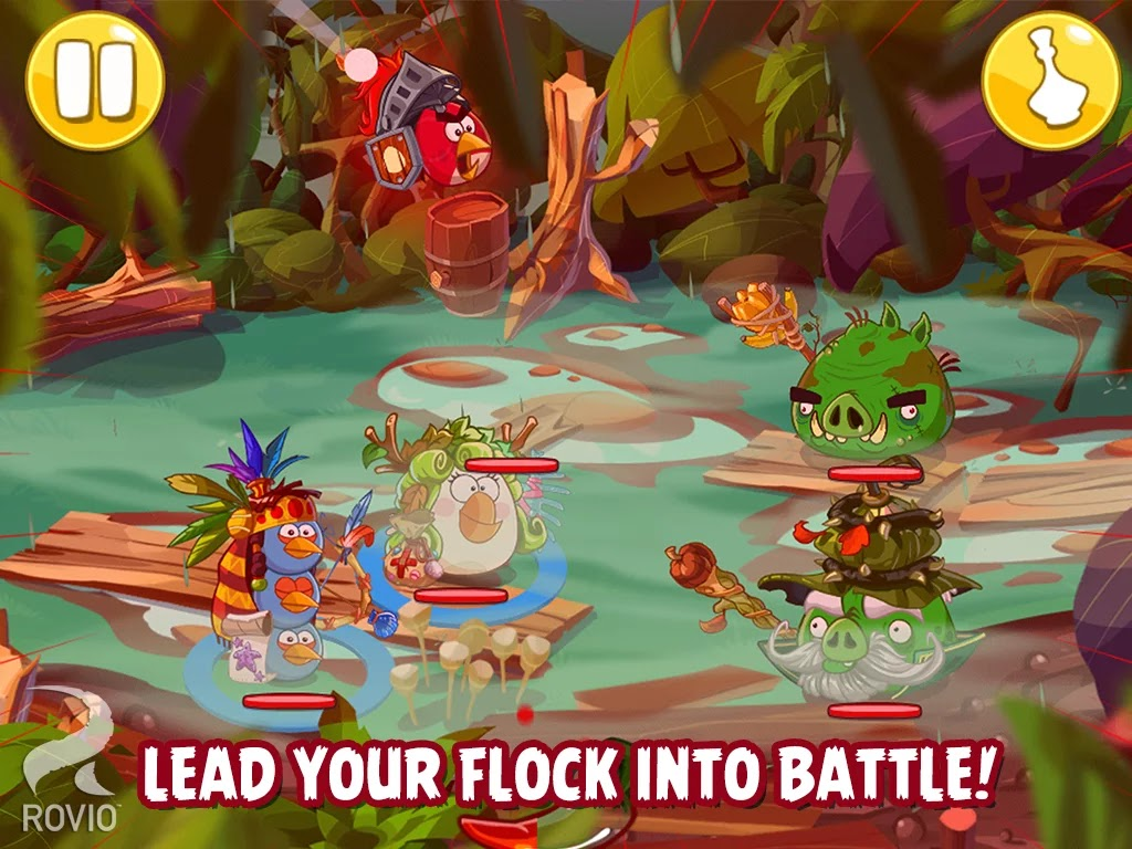 Angry Birds Epic v1.0.9 Mod [Unlimited Everything]
