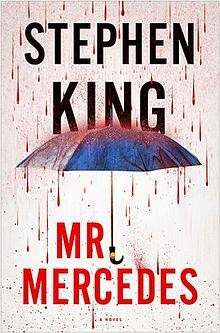 http://www.amazon.com/Mr-Mercedes-Novel-Stephen-King/dp/1476754470/ref=sr_1_1?s=books&ie=UTF8&qid=1420045172&sr=1-1&keywords=mr.+mercedes