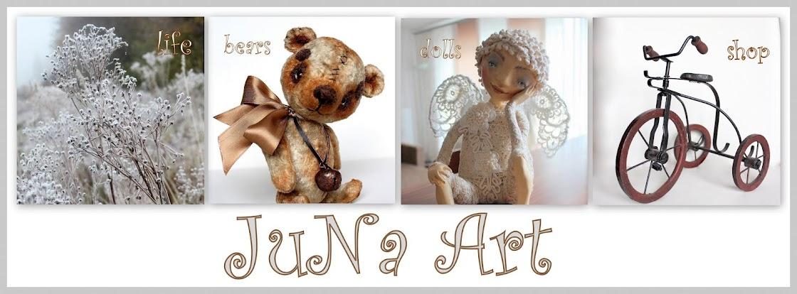 JuNa Art -  Куклы и Мишки  Юлии Назаренко