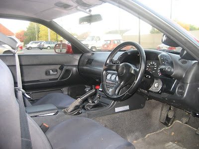 Real Nissan Skyline Original Interior