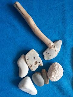 Как сделать топор из камня камень