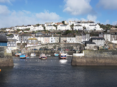 Entrance to Mevagissey Harbour