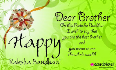 Happy Raksha Bandhan 2015 Quotes in English