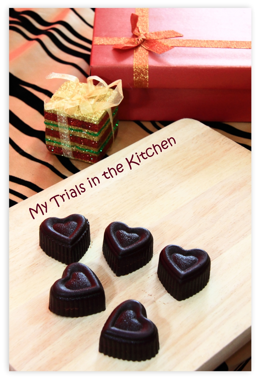 My trials in the kitchen homemade chocolates holiday for Christmas gift ideas from the kitchen