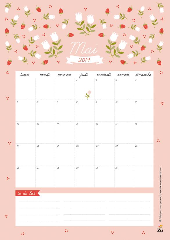 Calendar Zu : Hello may free printable and desktop wallpaper calendar