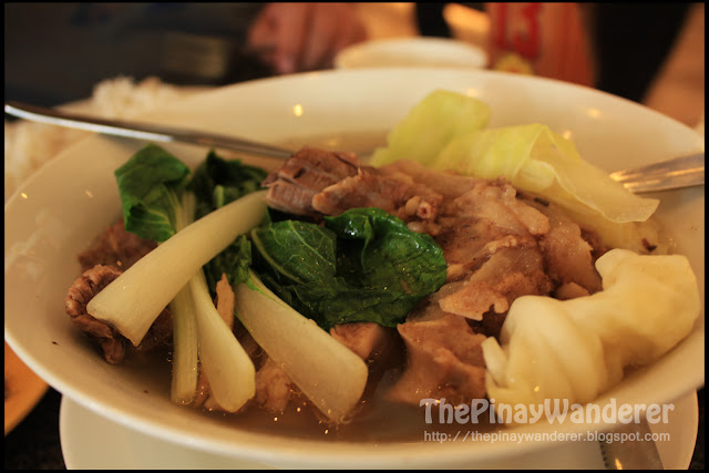 batangas bulalo at rose and grace restaurant