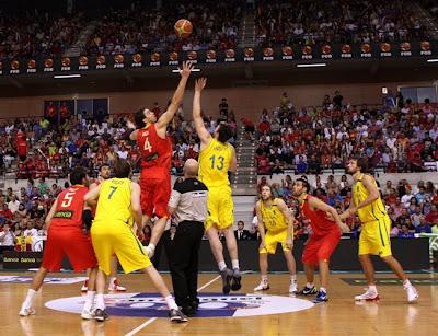 Partido preparación Eurobasket 2011