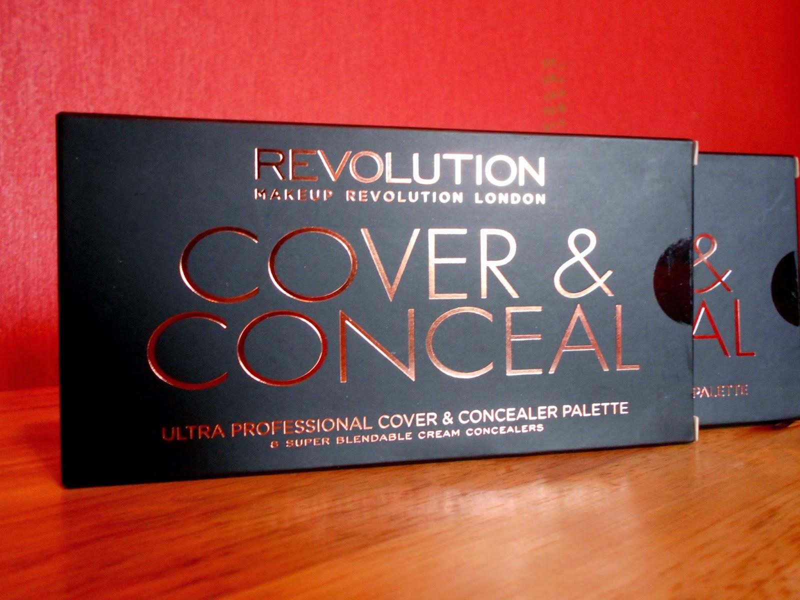 Makeup Revolution Cover & Conceal Palette