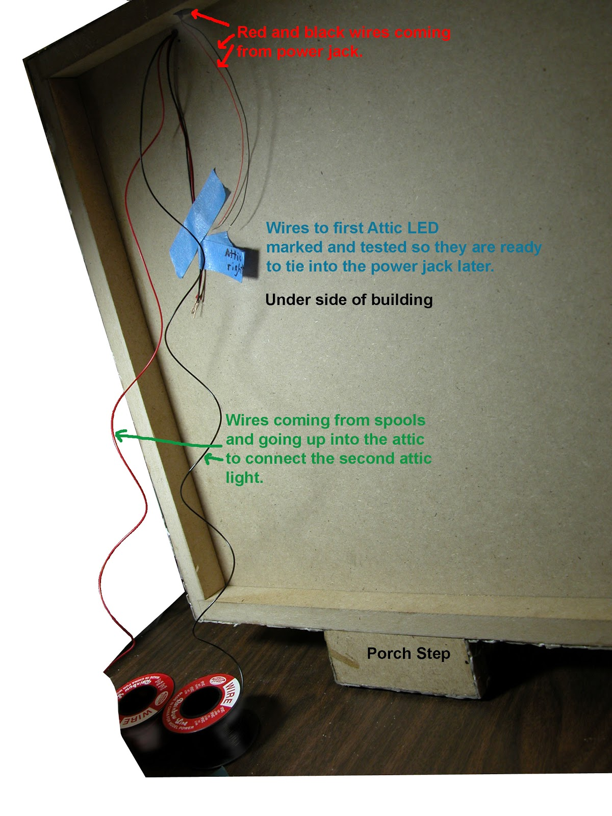 Led Wiring For Dollhouse Miniatures Small Wire House With