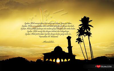 Pantun Menyambut Puasa Ramadhan