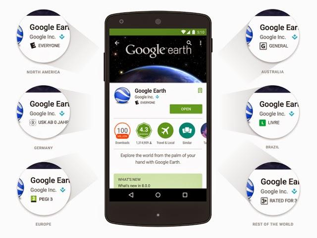 جوجل تعتمد معايير جديدة في عرض التطبيقات على جوجل بلاي