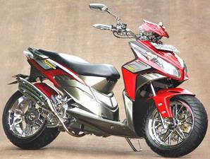 Modification Honda Vario CBS Techno Elegant And Minimalist Design