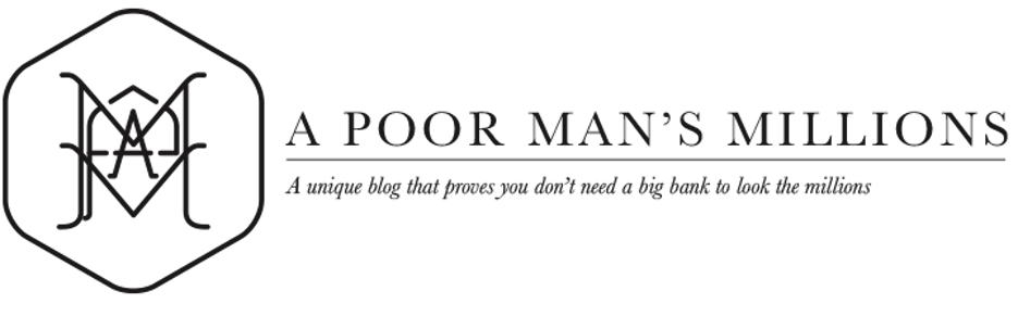A Poor Man's Millions Blog
