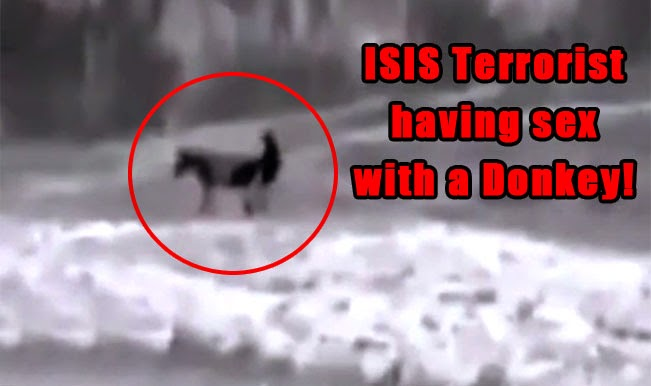 Drone Captures ISIS Member Having Sex With A Donkey