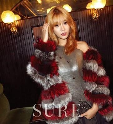 Hyejeong Yuna AOA Sure December 2015