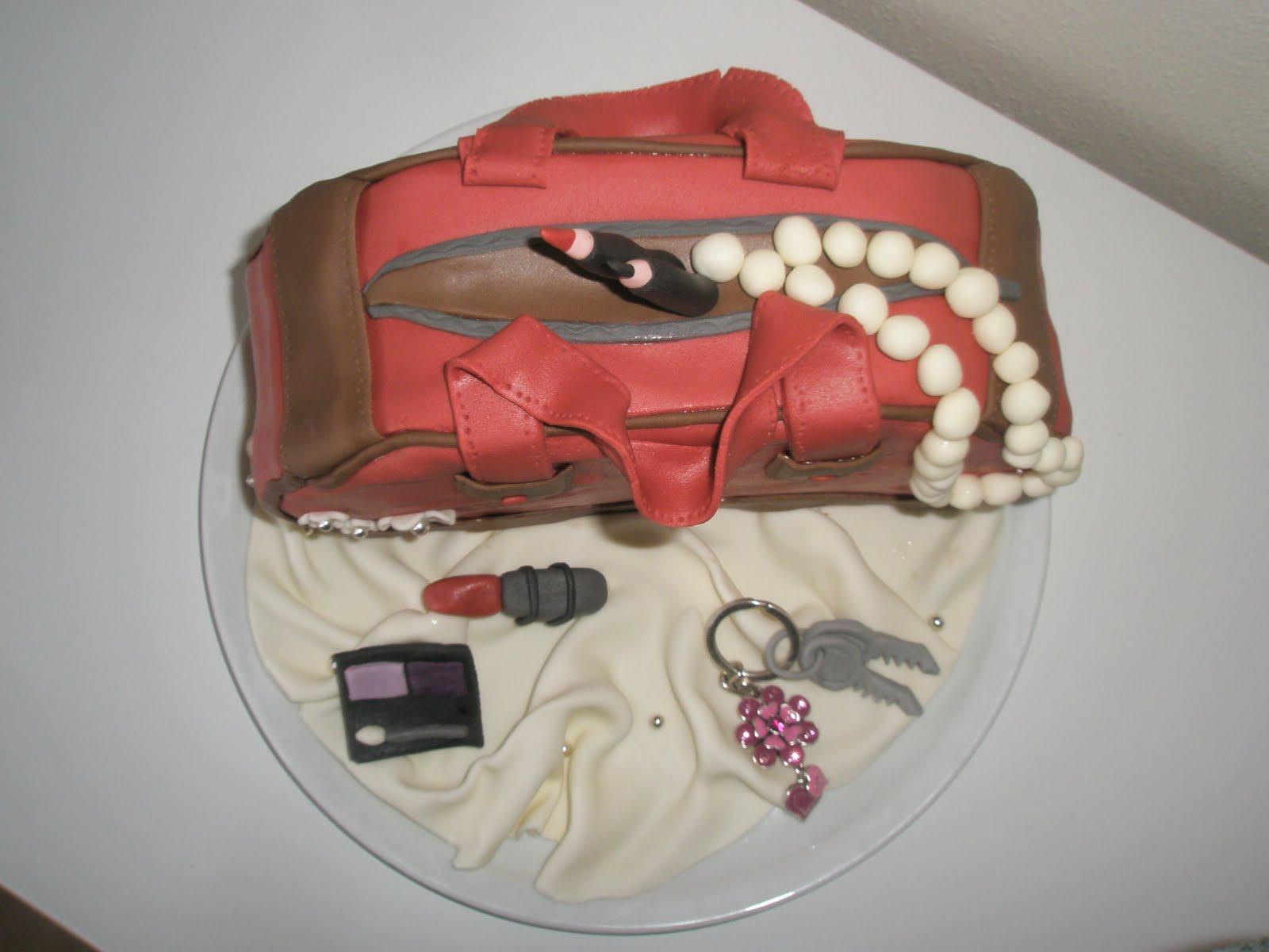 Fondant torte tasche anleitung