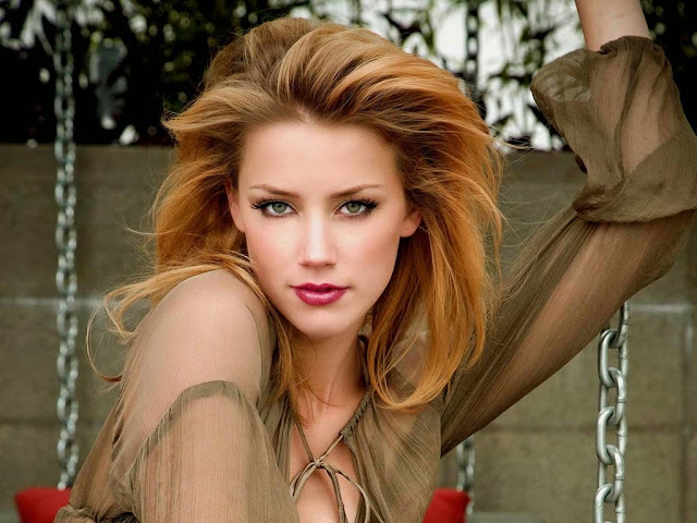 Amber Heard HD Wallpaper
